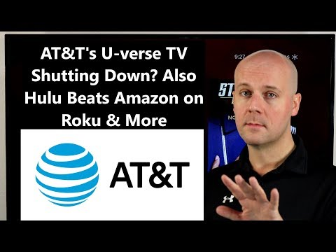 CCT 142 - AT&T's U-verse TV Shutting Down? Also Hulu Beats Amazon On Roku & More