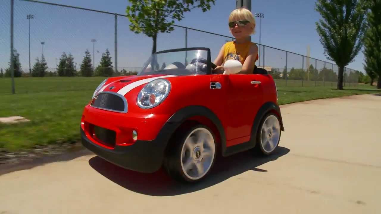 fbc37f6bc Avigo Mini Cooper Kids Car - YouTube