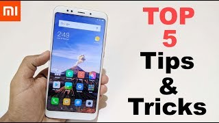 Redmi Note 5 TipsTricks Best Useful Features