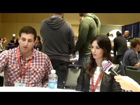 Doug Robinson & Odette Annable at WonderCon 2011