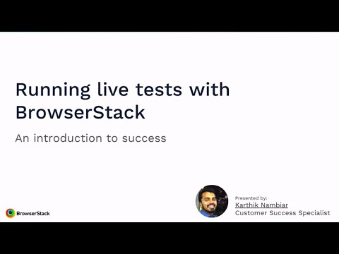 Comprehensive Guide On Manual Cross Browser Testing On BrowserStack Live