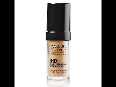 Обзор MAKE UP FOR EVER HD Invisible Cover Foundation+ применение