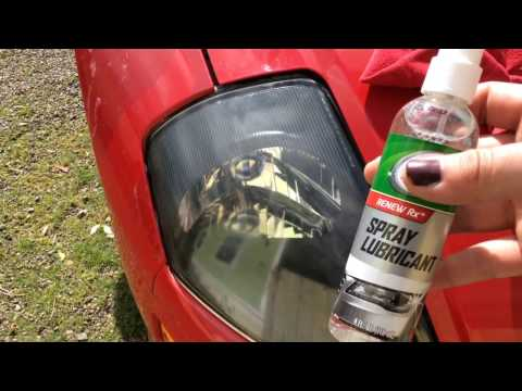 How to Restore Headlights With Walmart Turtle wax Headlight Lens Restorer Review