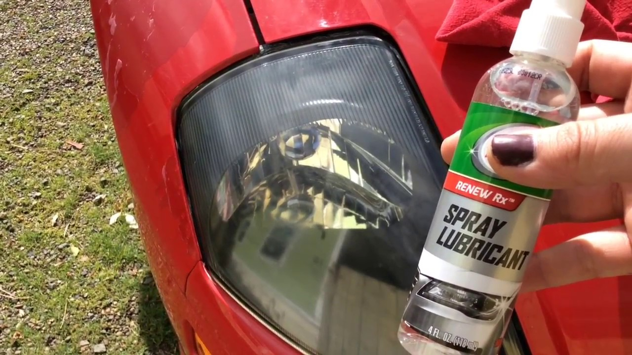 How To Restore Headlights With Walmart Turtle Wax Headlight Lens