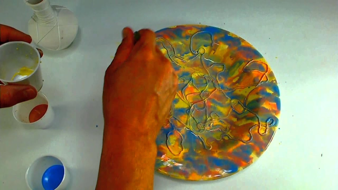 Acrylic Paint On Ceramic Plate & Paint Ceramic With ...