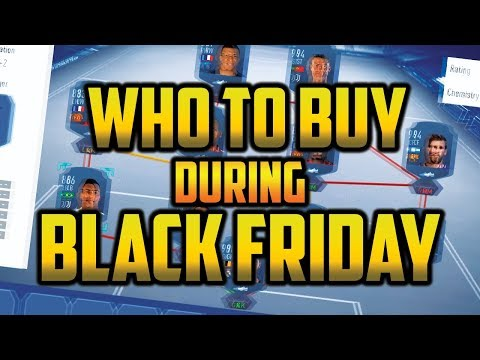 FIFA 19 -  WHO ARE THE BEST PLAYERS TO BUY DURING BLACK FRIDAY? - BLACK FRIDAY MARKET CRASH!!!