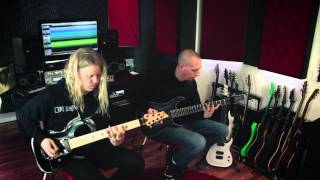 "Conquering Dystopia- ""Autarch"" (Guitar Play-Through) Jeff Loomis, Keith Merrow"