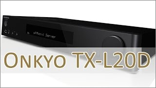 Test: Onkyo TX-L20D 2.1 Stereo Receiver (german)