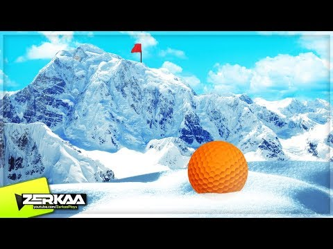 SNOWY MOUNTAIN MINIGOLF! (Golf It)
