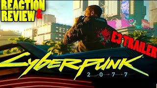 Cyberpunk 2077 trailer  E3 2018  - Reaction & Review