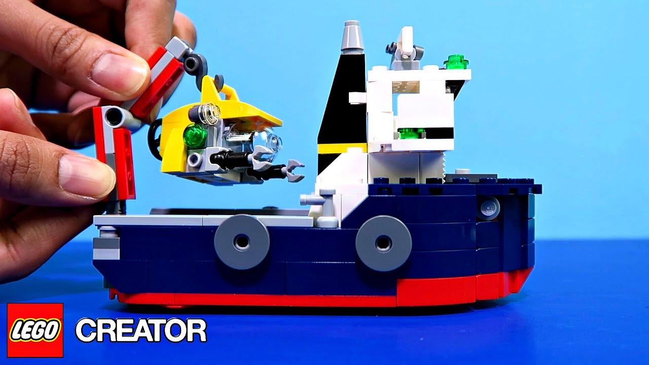 lego city undervandsbåd
