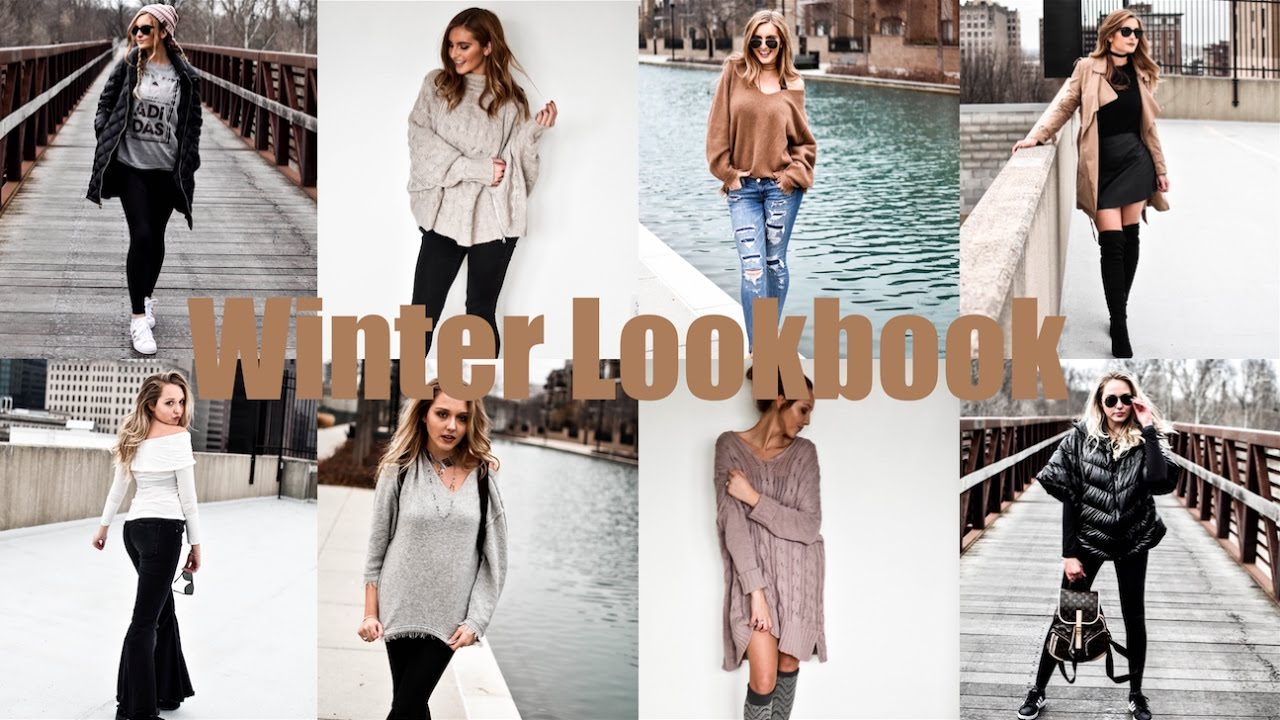 Winter Lookbook 2017 Justjosie Youtube