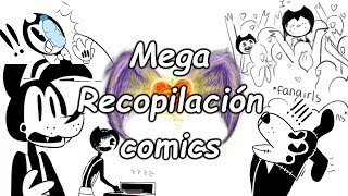 - Bendy And The Ink Machine Mega Compilacin de Comics Comic Dubs Espaol Latino
