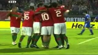Portugal 4-4 Cyprus  All Goals & Highlights (3-9-10)  Euro 2012 Qualifiers