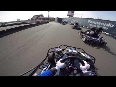 1h - Kart Rennen - START - Ralf Schumacher Kartbahn Bispingen