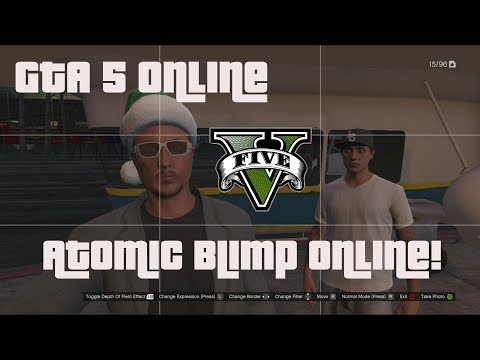 GTA 5 Online - How To Get The Atomic Blimp...