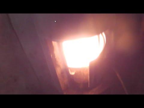 Печь из бочки для бани