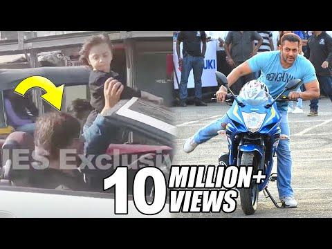 Salman Khan,John Abraham & Shahrukh Riding Bike & Car On Mumbai Roads