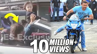 Salman Khan,John Abraham & Shahrukh Riding Bike & Car On Mumbai Roads MP3