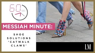 How To Keep From Slipping In Your Shoes | Messiah Minute