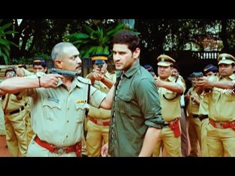 Mahesh Babu Released By Having His Associates Kidnap Kajal - Bussiness Man Tamil Movie Scene
