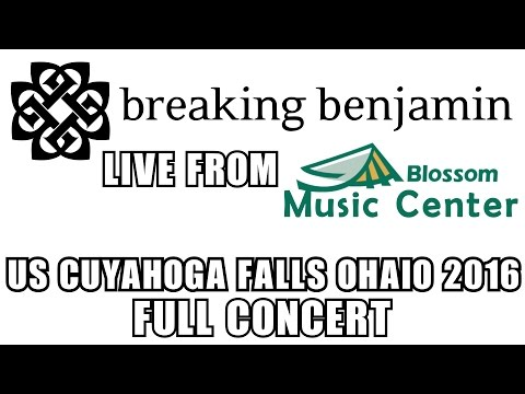 BREAKING BENJAMIN LIVE 2016 FROM BLOSSOM MUSIC CENTER FULL CONCERT