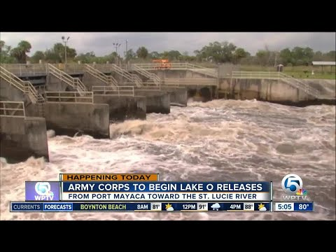 Army Corps releasing water from Lake Okeechobee after Irma