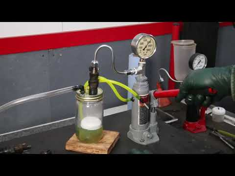 How to Test a Set of Diesel Fuel Injectors in 8 Minutes With NO Mess or Harsh Fumes