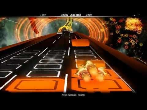 Audiosurf: Ayumi Hamasaki - Sparkle