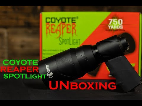 Unboxing NEW Predator Tactics COYOTE REAPER SPOTLIGHT