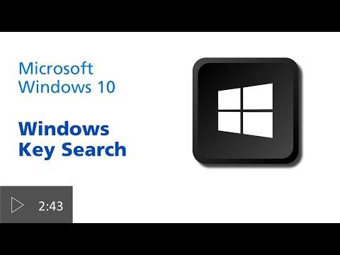 Windows Key Search