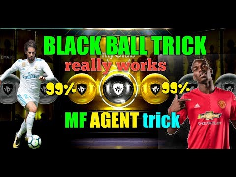 How to get a black ball in pes 2018 99% MF AGENT
