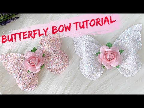 DIY Butterfly Bow // How To Make A Butterfly Hair Bow // Butterfly Hair Bow Tutorial //Miss O Crafts