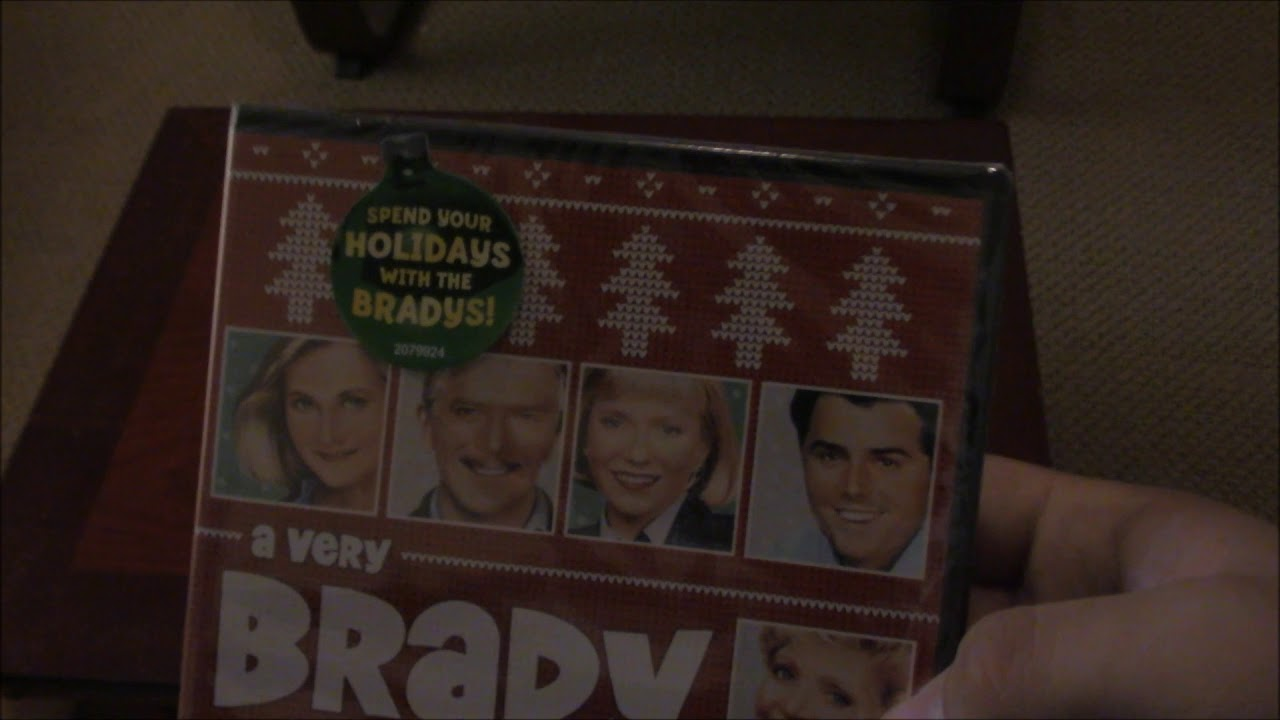 A Very Brady Christmas 2017 DVD Unboxing 1988 - YouTube