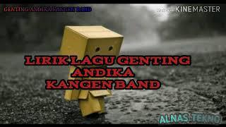 Download Video Lirik Lagu Genting ANDIKA-KANGEN BAND MP3 3GP MP4