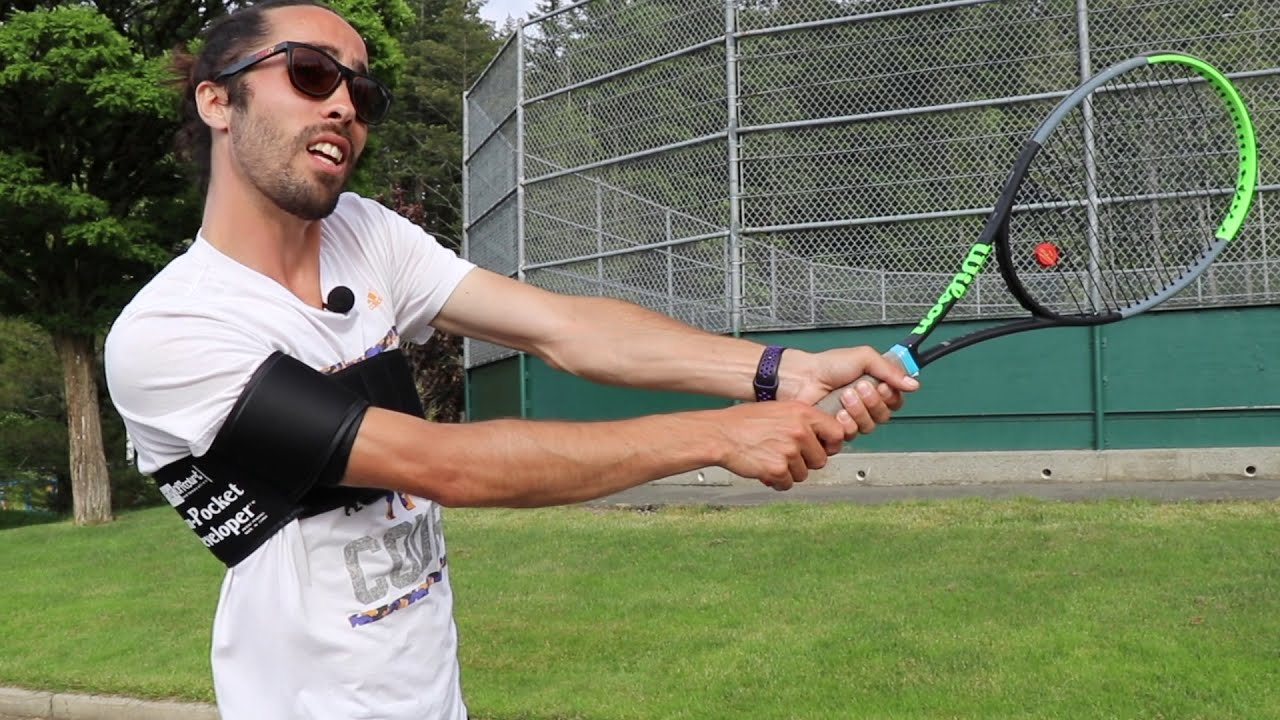 Arm Pocket Developer-Off Court Training Tool-Tennis Tourist