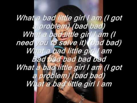 Rihanna ft chris brown - bad girl ( lyrics)