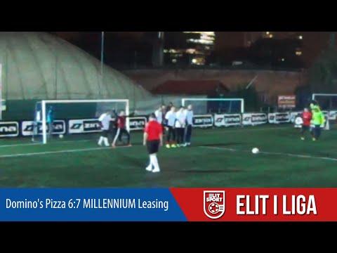 Domino's Pizza 6:7 MILLENNIUM Leasing - ELIT I Liga WIOSNA 2016