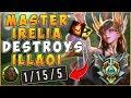 MASTER IRELIA DESTROYS ILLAOI - League of Legends