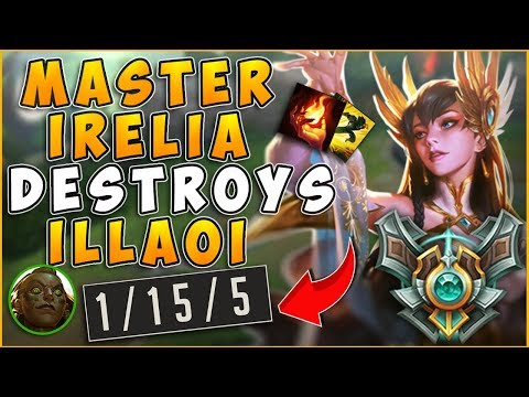 MASTER IRELIA DEMOLISHING ILLAOI -League of Legends thumbnail