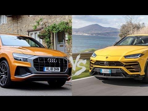 Audi Q8 Vs Lamborghini Urus Youtube