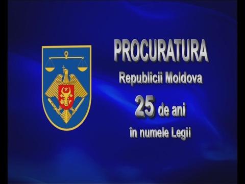 Procuratura Republicii Moldova - 25 ani în numele Legii
