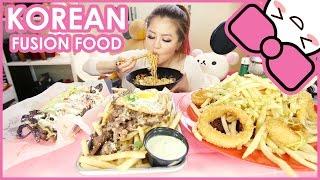 KOREAN FUSION FOOD | MUKBANG