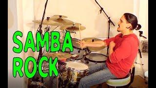 Tocar Batería - Samba Rock - (Africa de TOTO)