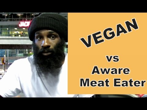 Vegan vs Aware Meat Eater?? -- Toronto Street Interview