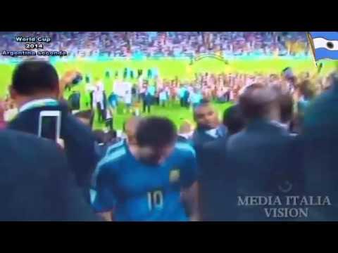 Lionel Messi Llorando por Argentina Copa Mundial de Brasil 2014 Final Argentina    YouTube