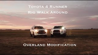 Toyota 4Runner Overland Rig Walk Around: Overland Modification