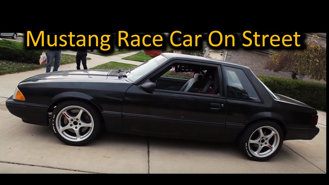 Fox Body Mustang Race Car Review By a Japanese Guy- Car Breaks Down ...
