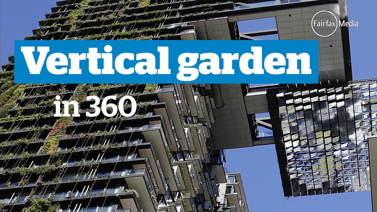Vertical Garden At Central Park Building