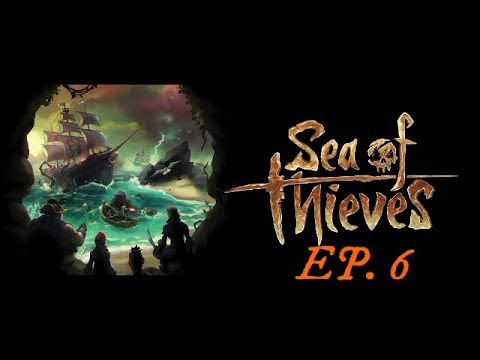 Sea of Thieves Ep. 6 - Our first fight as a crew lol.